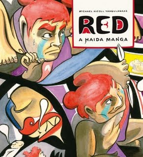 RED: A Haida Manga by Michael Nicoll Yagulanaas
