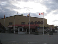 Ag-Rec in Aldergrove, hosting Fibres West 2010