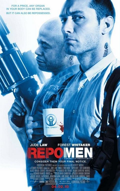 Repo Men (2010) starring Jude Law