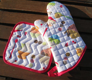 Potholders from Rags & Dishes
