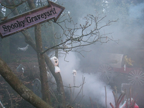 Spooky Graveyard aka Children's Petting Zoo