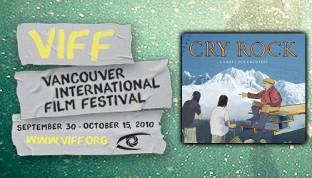 Cry Rock, a documentary at Vancouver International Film Festival