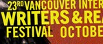 Vancouver International Writers Festival banner 2010