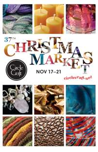 Circle Craft Christmas Market 2010 postcard