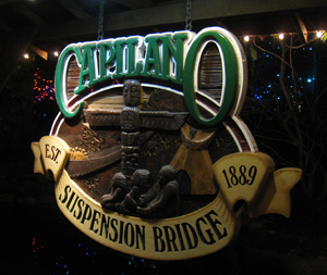 Capilano Suspension Bridge, establish 1889