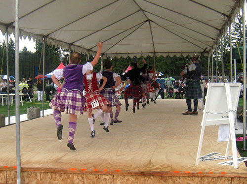 BC Highland Games 2011 - Highland Reel (dancing)