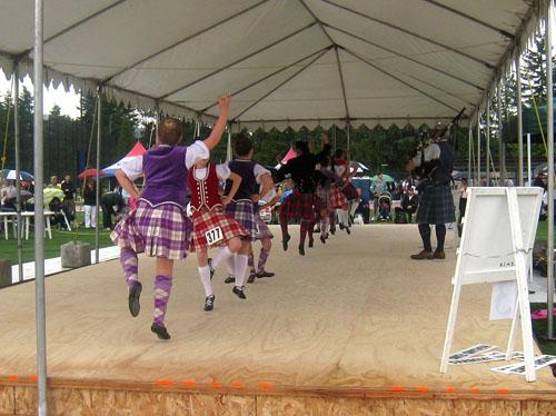 BC Highland Games 2011 - Highland Reel (dancing)