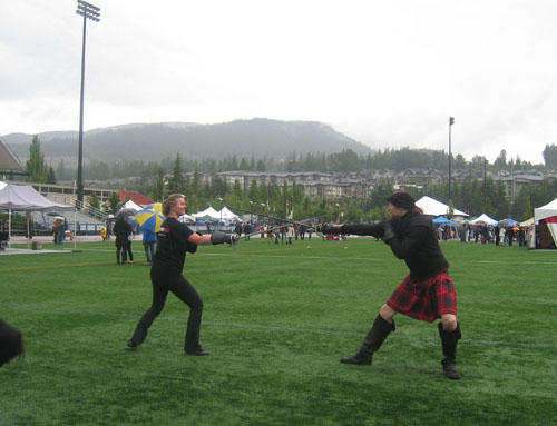 BC Highland Games 2011 - Swordplay (Rapier duel)