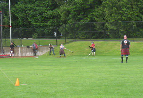 BC Highland Games 2011 - Men's Hammer Toss