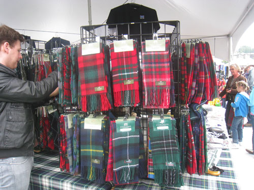 BC Highland Games 2011 - Marketplace