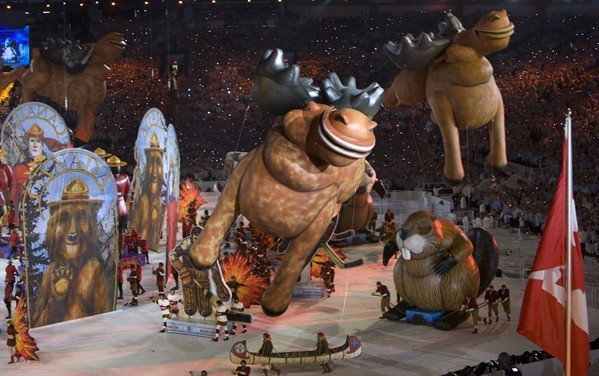 Vancouver Winter Olympics closing ceremonies