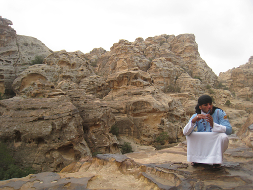 Bedouin in Little Petra