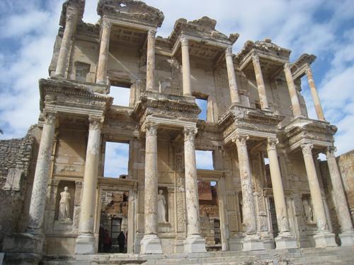 The Celsus Library in Ephesus, Turkey