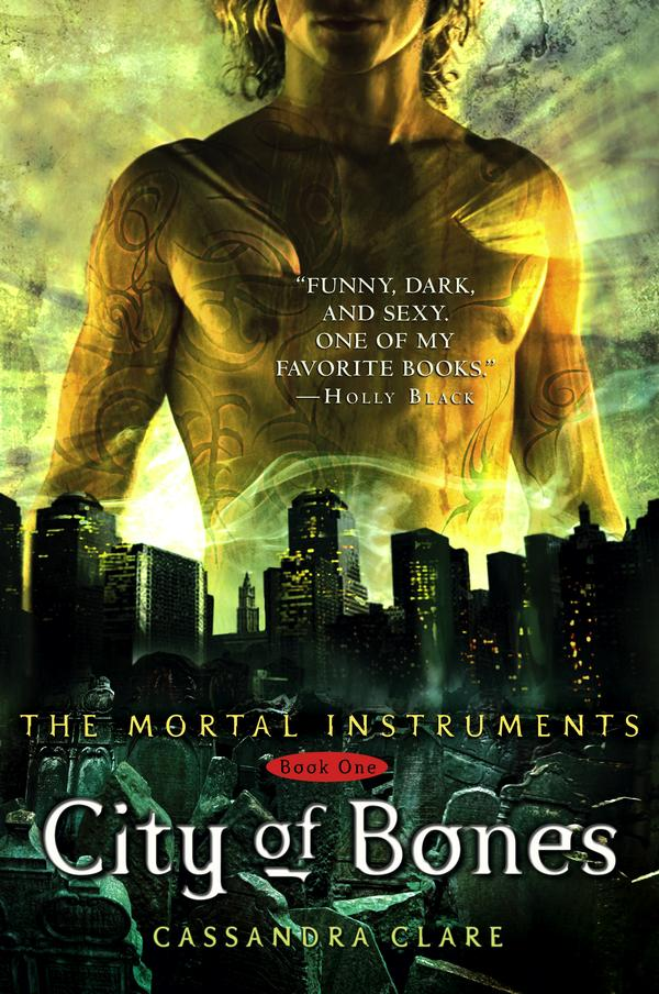 City of Bones by Cassandra Clare - book cover