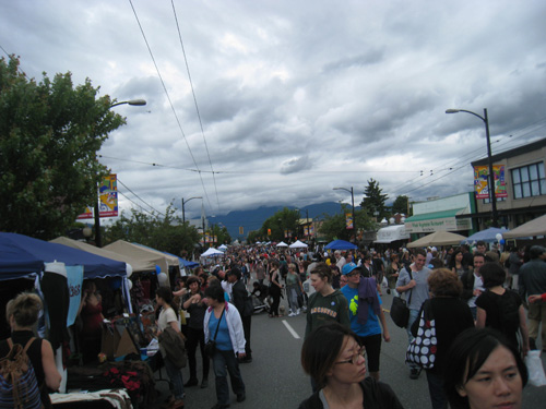 Car Free Day 2012 - Main Street