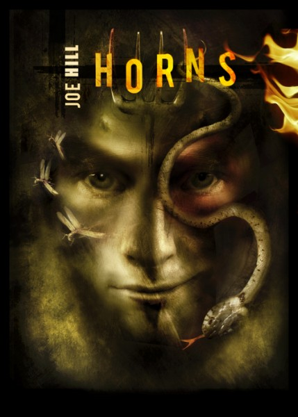 Horns by Joe Hill (special UK cover)