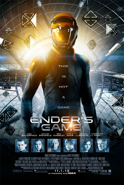 Ender's Game (movie poster)