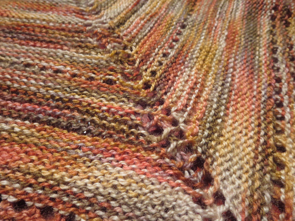 Adventure Shawl - colours