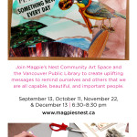 Affirmative Art Journaling with Magpie's Nest